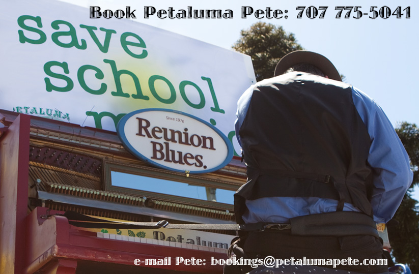 Book Petaluma Pete